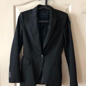 Black Zara blazer jacket